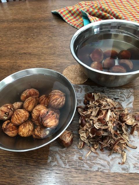 秋の贅沢!栗の渋皮煮&HAKUSUI's tea